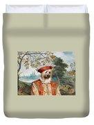 Silky Terrier Art Canvas Print Duvet Cover