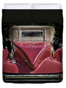 1930 Packard Model 734 Speedster Runabout Duvet Cover