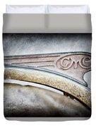 1938 Gmc Hood Ornament Duvet Cover