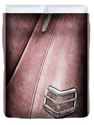 1940 Ford Deluxe Coupe Taillight Duvet Cover