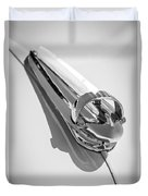 1947 Chevrolet Deluxe Hood Ornament Duvet Cover
