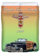 1948 Chrysler Town And Country Duvet Cover