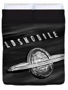 1950 Oldsmobile 88 Emblem Duvet Cover