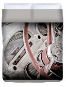 1956 Ford Thunderbird Steering Wheel Duvet Cover