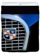 1956 Studebaker Golden Hawk Emblem Duvet Cover