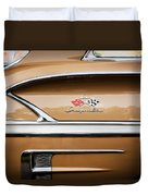 1958 Chevrolet Bel Air Impala Painted  Duvet Cover