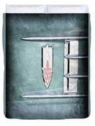 1958 Oldsmobile Emblem Duvet Cover
