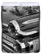 1962 Dodge Polara 500 Taillights Duvet Cover