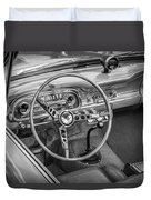 1963 Ford Falcon Sprint Convertible Bw  Duvet Cover