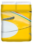 1964 Ferrari 250 Gt Lusso Hood Emblem Duvet Cover