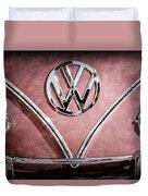 1964 Volkswagen Vw Double Cab Emblem Duvet Cover