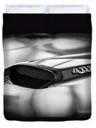 1966 Pontiac Gto Hood Emblem Duvet Cover