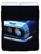 1967 Chevy Camaro Rs Duvet Cover
