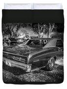 1967 Pontiac Gto Bw Duvet Cover