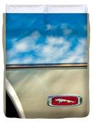 1995 Jaguar Emblem Duvet Cover