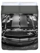 2008 Ford Shelby Mustang Gt500 Kr Painted Bw  Duvet Cover