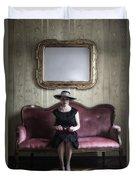 40s Lady Duvet Cover by Joana Kruse