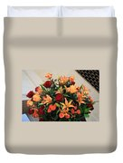 A Gallery's Flowers Duvet Cover