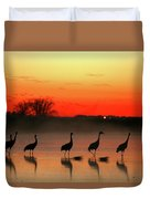 A General View Of The National Park Duvet Cover