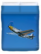 A North American P-51d Mustang Duvet Cover