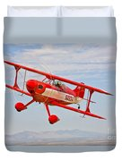 A Pitts Special S-2a Aerobatic Biplane Duvet Cover