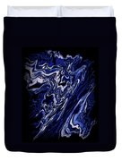Abstract 84 Duvet Cover by J D Owen