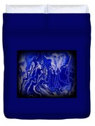 Abstract 87 Duvet Cover by J D Owen