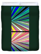 Abstract Fusion 221 Duvet Cover by Will Borden