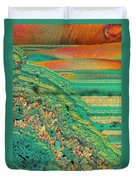Agate Microworlds 2 Duvet Cover