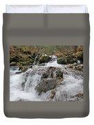 Alaskan Waterfall Duvet Cover