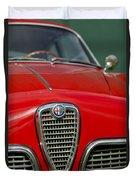 Alfa Romeo Grille Emblem Duvet Cover