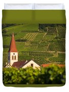 Alsace Church Duvet Cover