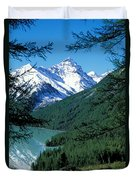 Altai Mountains Duvet Cover by Anonymous