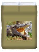 American Crocodile Duvet Cover