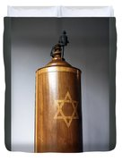 Ancient Torah Scrolls From Yemen  Duvet Cover