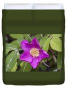 Arctic Rose Duvet Cover