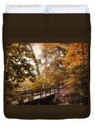 Autumn Awaits Duvet Cover