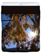 Autumn Coniferous Duvet Cover