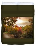 Autumn Hues Duvet Cover