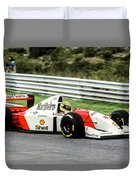 Ayrton Senna Duvet Cover