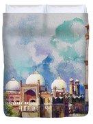 Badshahi Mosque Duvet Cover