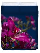 Bauhinia Purpurea - Hawaiian Orchid Tree Duvet Cover