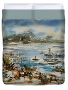 Bay Scene Duvet Cover
