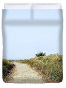 Beach Trail Duvet Cover