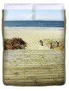 Beach View Duvet Cover