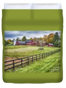 Beyond The Fence Duvet Cover