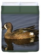 Bluewing Teal Duvet Cover