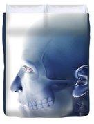 Bones Of The Face Duvet Cover