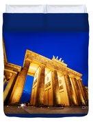 Brandenburg Gate Berlin Germany Duvet Cover
