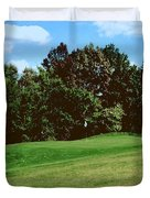 Brookhill Golf Course Duvet Cover